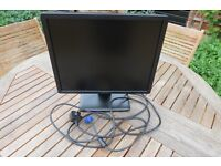 "Dell 19"" LED Computer Monitor"