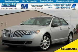 2012 Lincoln MKZ Base*PST PAID *LEATHER SEATS*NAV SYSTEM*REAR SO