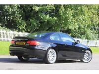 BMW 3 SERIES 2.0 320D SE 2d 181 BHP RAC WARRANTY + BREAKDOWN CO (black) 2011