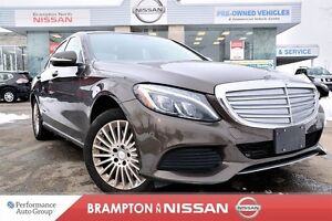 2015 Mercedes-Benz C-Class C300 4MATIC Only 23K's With Navigatio