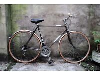 DAWES FLEUR, 22.5 inch, 57 cm, vintage gents dutch style mixte frame road bike, 5 speed