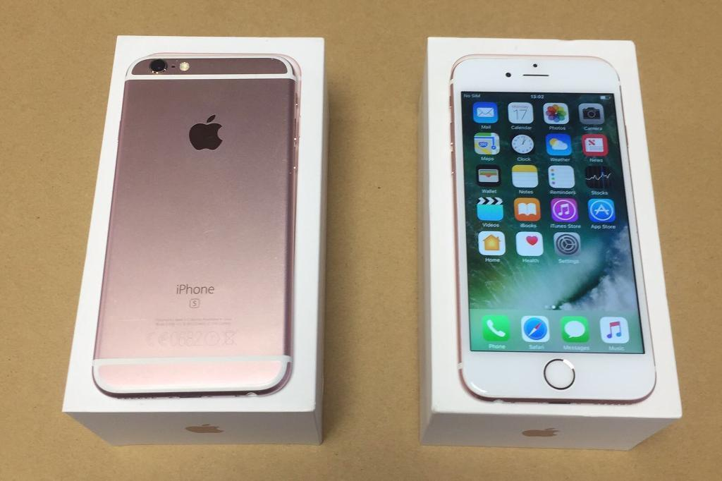 iPhone 6s Rose Gold 64 GiG 02/Giff Gaff Network