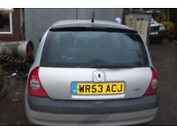 renault clio dci spares or repair cluch going please call