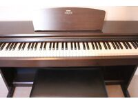 Yamaha Arius YDP-140 digital piano in rosewood - great condition, full size, 3 pedals, stool