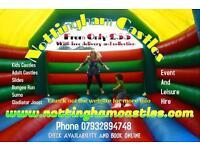 Bouncy castle hire-Nottingham Castles