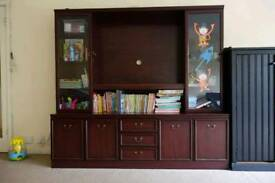 Nice TV stand and wardrobe