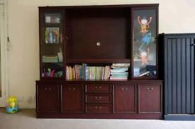 Nice TV stand and wardrobe