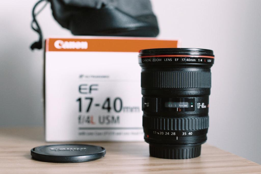 Canon 17-40 mm L f/4