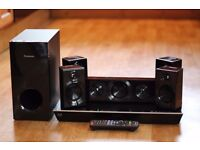 Panasonic 3D Blu Ray Player And Surround Sound
