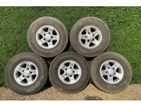 """Land Rover Defender Boost Alloys 16"""" with tyres"""