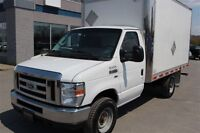2012 Ford E-350 CUBE 12 PIEDS ROUE SIMPLE