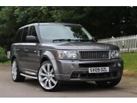 LAND ROVER RANGE ROVER SPORT 2.7 TDV6 STORMER EDITION 5d AUTO 188 BHP RAC APROVED DEALER (grey) 2009