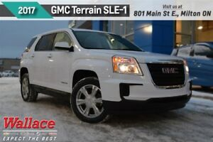 2017 GMC Terrain SLE-1/1-OWNER/CLEAN HSTRY/AWD/REAR CAM/6-SPKR
