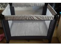 Mamas and Papas travel baby cot almost new