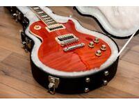 2013 Gibson slash les paul vermillion