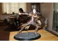 Weta Elrond at Dol Guldur statue