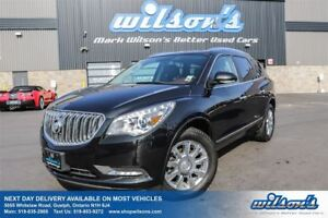 2014 Buick Enclave 7-PASS AWD! LEATHER! PANORAMIC SUNROOF! REAR