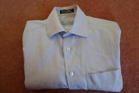 Louis Philippe Blue Shirt, collar size 15.5""