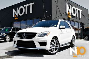 2015 Mercedes-Benz M-Class ML63 AMG w/Rear DVD