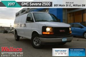 2017 GMC Savana 2500 WORK VAN/3-DOOR/2-SEATS/AC/TRANS COOLR/REAR