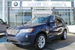2013 BMW X3 28i xDrive **NEW PRICE!!  JUST $185 BIWEEKLY+TAX!!