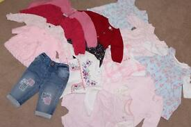 Baby Girls clothes 49 items First Size/1 Month