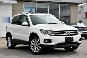 2013 Volkswagen Tiguan Highline 4MOTION / CUIR / TOIT PANO. /