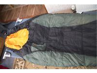 camp bed plus sleeping bag