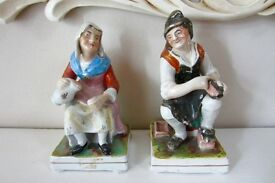 Victorian Pair Staffordshire Figures.