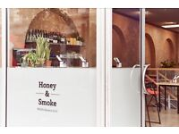 Come cook with us at Honey & Smoke - CDP