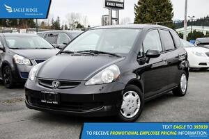 2007 Honda Fit LX AM/FM Radio and Air Conditioning