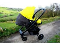 Graco Evo Pushchair, Carrycot and Car Seat