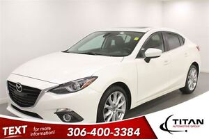 2014 Mazda MAZDA3 GT|Auto|Back-up Cam|Heated Leather