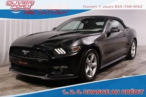 2015 Ford Mustang V6 RWD MAGS CAMÉRA 4 PASS. BLUETOOTH A/C