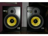 KRK RP8 pair (tweeters blown, pay someone to help me fix) or for sale