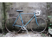 PEUGEOT, vintage racer racing road bike, 22.5 inch, 10 speed