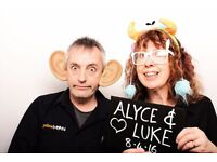 Earn £130 a day running a photo booth at weddings & parties at the weekend