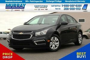 2016 Chevrolet Cruze LT w/1LT*FINANCING AS LOW AS 0.9%* Moose Jaw Regina Area image 1