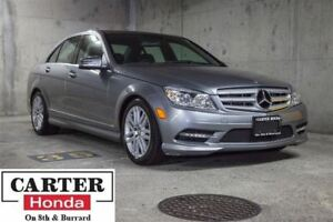 2011 Mercedes-Benz C-Class C250 4MATIC AWD + LOCAL + LOW KMS! +