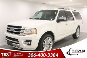 2016 Ford Expedition Max Platinum|8 Pass|Heated Leather|Nav
