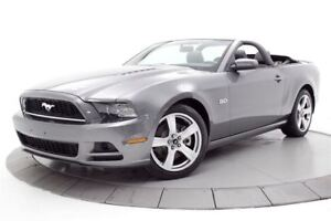 2013 Ford Mustang GT CUIR V8 CONVERTIBLE