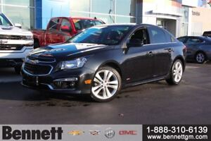 2015 Chevrolet Cruze 2LT - RS Package, Heated Seats, Navigation