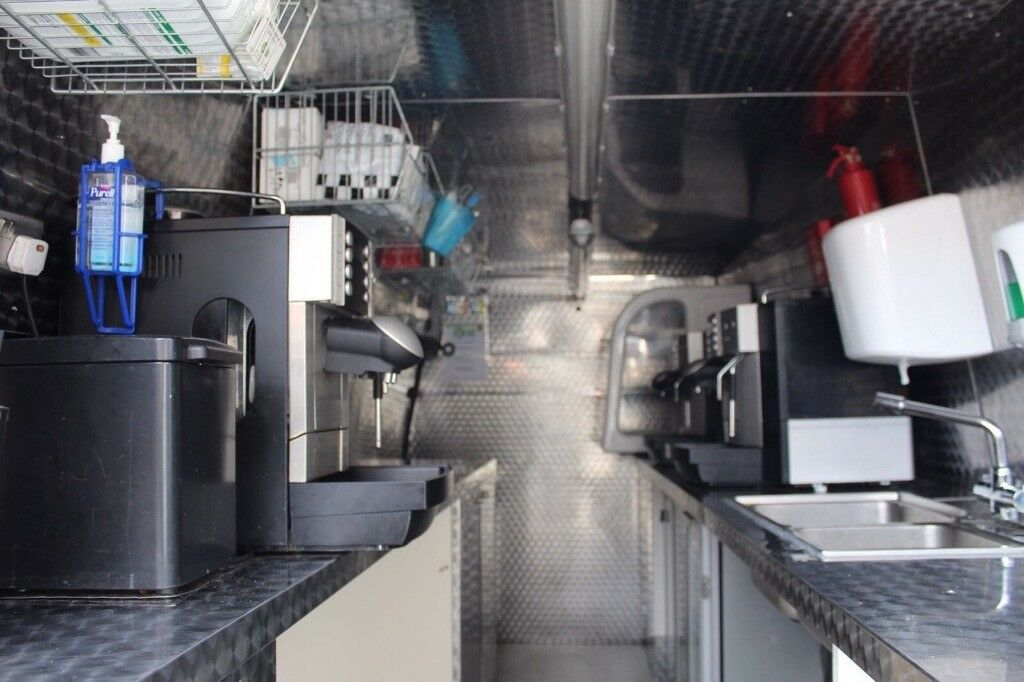 d433f0947f MOBILE COFFEE BUSINESS VAN MACHINES ACCESSORIES HYGIENE CERTIFIED FULLY  RUNNING BUSINESS. Braintree ...