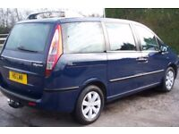 £1950 Extremely Rare FULL 8 SEATER Fiat Ulysse (Same as Peugeot 807/Citroen C8) 2.0 Petrol