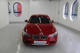 BMW 1 SERIES 120d Urban 5dr (red) 2012