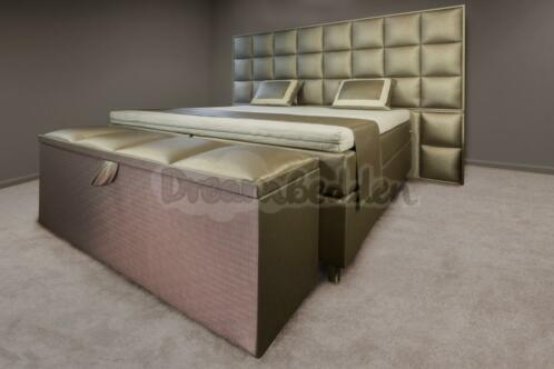 Slaapkamer Hotel Look : ≥ hotel boxspring xxl 200x200 eric kuster style dreambedden