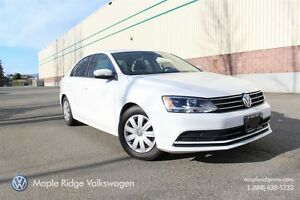 2015 Volkswagen Jetta TRENDLINE+ 1.8T 5-SPEED MANUAL