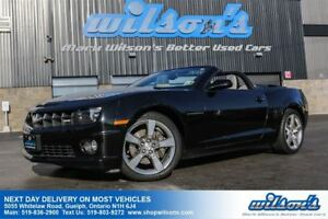 2012 Chevrolet Camaro 2SS CONVERTIBLE! LEATHER! HEADS UP DISPLAY