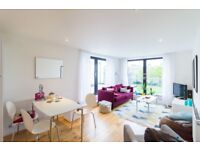 Spacious 2 Bed Apartment in E3, Bow, Canary Wharf, Devons Road DLR, Private Terrace- SA