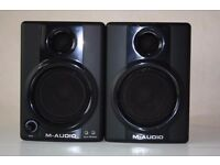 (Price Negotiable) M-Audio Studiophile AV 30 (SELLING TODAY ONLY)